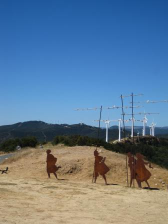 A bit of el camino, a bit of Don Quixote.
